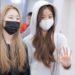 20181215 羽田空港 IZONE (アイズワン) Jang Wonyoung (장원영) チャンウォニョンが着てたパーカー