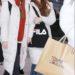 20181230 金浦国際空港 チョユリ IZONE(アイズワン) が持ってたFILAのトートバッグ