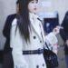 20190101 金浦国際空港 / TWICEのミナ (Mina)が着てたバーバリーのコート