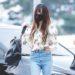 20190601 仁川国際空港 / ユジュ(GFRIEND)が持ってたバレンシアガのバックパック